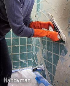 Make your tile look new again. We show you the best ways to scrape out crumbling, stained grout with simple tools and without damaging the old tile. You can regrout quickly and easily and at little cost. We'll also include tips to help you avoid common mistakes