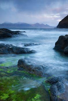 Darkness of Gjogv ~ rocky shores Eysturoy, Faroe Islands. Photo: Adam Burton