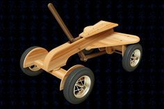 Sidewalk Speedster Wooden Toy - SOLIDWORKS,SOLIDWORKS,AutoCAD - 3D CAD model - GrabCAD