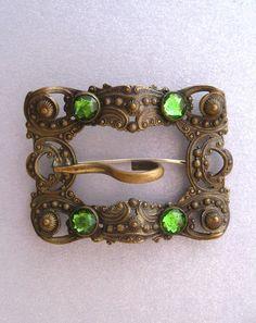 Antique Buckle Brooch
