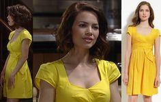 I'm a Soap Fan: Elizabeth Webber's Yellow Dress - General Hospital, Season 52, Episode 95, 08/14/14 #GH #GeneralHospital