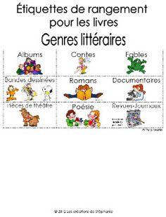 1000 images about organisation de la classe on pinterest cycle 3 journals - Rangement pour livre ...