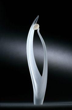 """*Art Glass - """"Pebbles Vll"""" by Alex Fekete"""