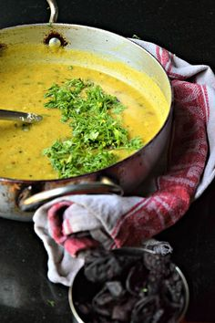 Maharastrian Kokum Amti/Dal - Kokum Amti is a popular Maharashtrian dal, that is cooked with tur dal flavored with kokum, coconut and jaggery. This lentil dish is simple to make and tasty.