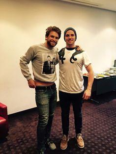 Keegan and Ian