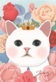 Jetoy Choo Choo Cat - Flower 3