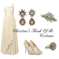 """Christine's Think of Me Costume"" by emilygracey on Polyvore"