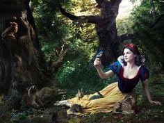 © Annie Leibovitz for Disney: Rachel Weisz as Snow White