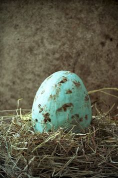 speckled robin egg cake