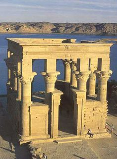 Temple of Isis at Philae (The Kiosk of Trajan) at it's new home on Agilika Island