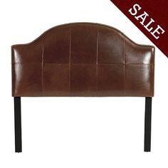 Camden Leather Headboard, $399-need KING SIZE