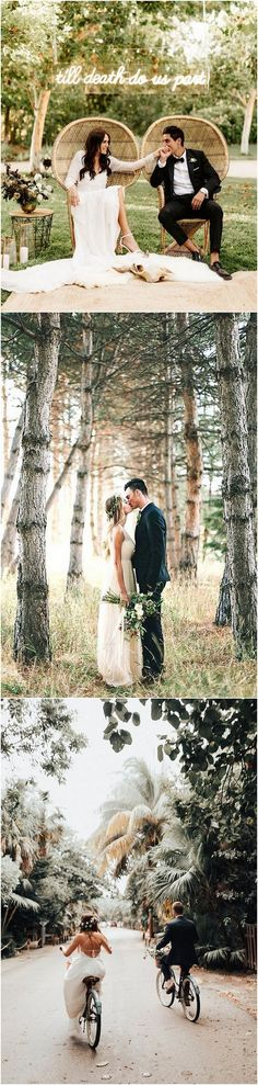 Romantic wedding photo ideas #weddingideas #weddingphotography #bohowedding #weddinginspiration