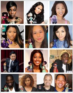 I choose this beacuse it shows the Voice Actors of Steven Universe and it allways fun to see whi voices your favourite characters.