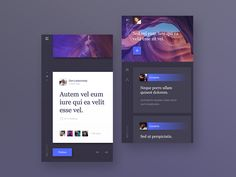 Inspease - social blog app.  by Messaki
