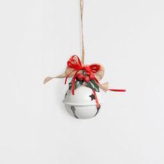 GRELOT AVEC DÉCORATION (LOT DE 2) - Décoration - Noël | Zara Home Belgique --- réf. 49626060 /// 6,99 €