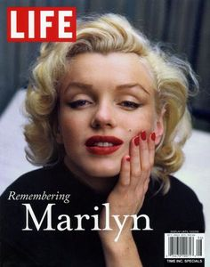 LIFE Magazine featuring Marilyn on its cover