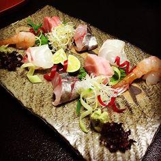 Kaiseki cuisine #sashimi#seafood#yummy #delicious#cuisine #Kaiseki#Japanese by paririss