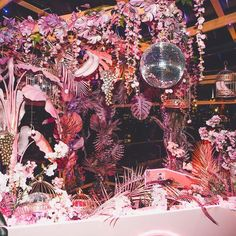 New York's Hottest Tropical Bars: 2018 Edition Pink Parties, Mouse Parties, Decoration Inspiration, Alternative Wedding, Mellow Yellow, Event Styling, Event Decor, Event Design, Wedding Designs