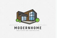 Looking For a Logo OR Brand Identity  Design? Contact Us. Custom Logo Design, Custom Logos, Building Logo, Real Estate Logo, T Shirt Costumes, Brand Identity Design, Apartments, Shirt Designs, Design Ideas