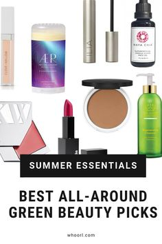 Memorial Day weekend is almost here and one of my favorite companies, Aillea, is offering an awesome deal! These are some of the best green beauty products that are around this summer! Take care of YOU! #skincare #makeup #beauty