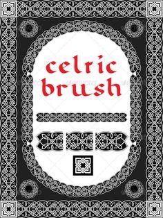Realistic Graphic DOWNLOAD (.ai, .psd) :: http://sourcecodes.pro/pinterest-itmid-1006570261i.html ... Celtic Brush for Frame and Design ...  ancient, border, brush, celtic, church, design, element, fantasy, frame, illustration, interlacing, irish, medieval, ornament, pattern, seamless, slavic, symbol, vector  ... Realistic Photo Graphic Print Obejct Business Web Elements Illustration Design Templates ... DOWNLOAD :: http://sourcecodes.pro/pinterest-itmid-1006570261i.html