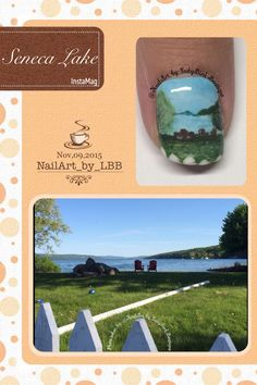 Instagram photo by @NailArt_by_LadyBirdBoutique #senecalake #nails #nailart