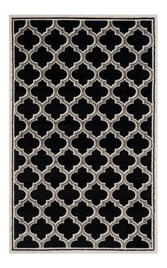 Safavieh AMT412G Amherst Indoor / Outdoor Power Loomed Polypropylene Rug 5 x 8 Home Decor Rugs Rugs