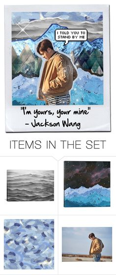 """""""""""I'm yours, your mine""""- Jackson Wang"""" by blacknwhitmay on Polyvore featuring art"""