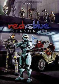 The battle rages on in this release featuring every episode of Red vs. Blue: Season 13. Color: Blue.