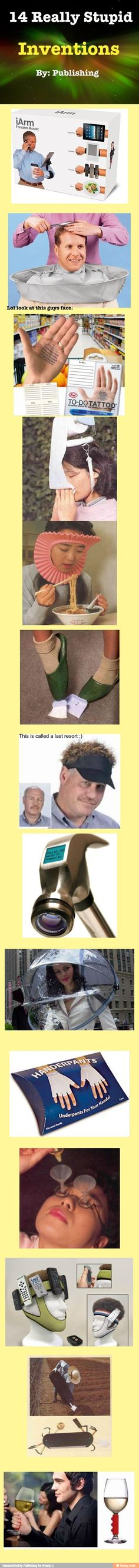 14 really stupid inventions / iFunny :)