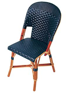 """Authentic Bistro Chair Handmade in France TK Collections Malsherbes #3454 19""""W x 21.5""""D x 34""""H"""