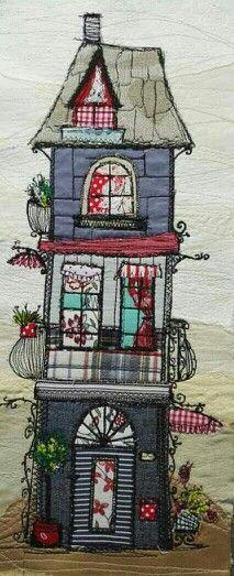 Marieta Stefanova Embroidery applique @MarietaStefanovaTextileArt