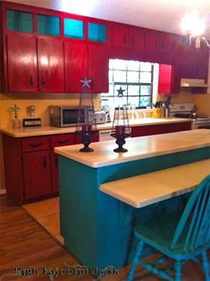 HFJ Ranch Kitchen Makeover with Chalk Paint™ I must have this kitchen!!!!