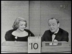 Bette Davis on What's My Line? What's My Line, Bette Davis, Actors & Actresses, Mystery, Tv Shows, Funny, Youtube, Casual, Ha Ha