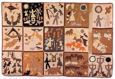 Harriet Powers 1837–1910 was an African American folk artist and quilt maker from rural Georgia, United States born into slavery. Now nationally recognized for her quilts, she used traditional appliqué techniques to record local legends, Bible stories, and astronomical events on her quilts.