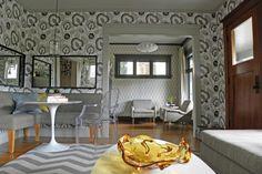 Craftsman Living Room Designed By Matthew Brenner via design ideas home design house design design