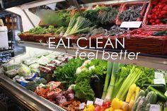 Eat Clean, feel better.
