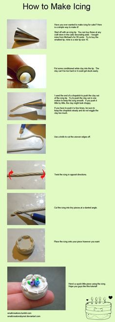 How to make icing Fun Tip Friday #22 by *SmallCreationsByMel on deviantART