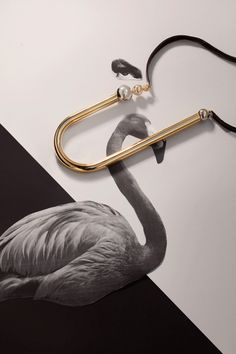 <p>Michal Lerman's jewellery is the sublime hero of this playful editorial. Lerman is an Israeli jewellery designer whose striking work features bold shapes and polished surfaces that's completed with