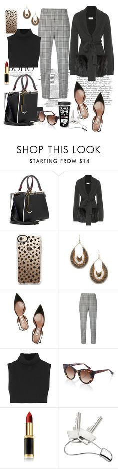 """""""Untitled #1610"""" by csfshawn ❤ liked on Polyvore featuring Fendi, Casetify, Sole Society, Tabitha Simmons, Alexander Wang, Victoria Beckham, Thierry Lasry, L'Oréal Paris and Georg Jensen"""