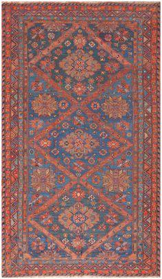 Caucasian Antique Soumak Rug 50361 Detail/Large View