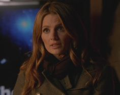 "Stana Katic as Kate Beckett in Castle Season 6 Episode 16 ""Room 147"""