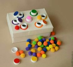 farben zuordnen - Spiel für KLeinkinder