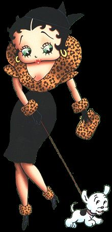Betty Boop Page 6 - Betty Boop Clip Art Images