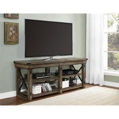 Ameriwood Home Wildwood TV Stand - Rustic Gray - 1768096PCOM