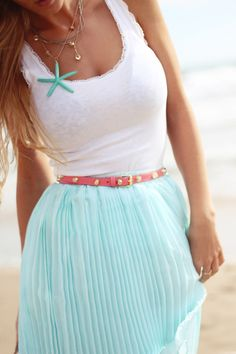 Pretty beach outfit # Pin++ for Pinterest #