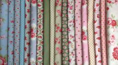 Big Bundle New Cotton Floral Fabric Material Remnants Offcuts Cath Kidston Floral Fabric, Cotton Fabric, Cath Kidston Fabric, Fabric Strips, Dear Santa, Fabric Material, Fabric Design, Doll Clothes, Craft Projects