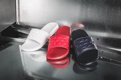 "***RELEASE REMINDER*** The Nike Quickstrike ""Independence Day Pack"" with three colorways on the Benassi JDI is coming to our shop tonight! Release: 26.6.2015 