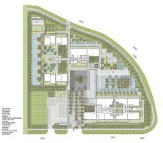 直达天空的集合住宅:新加坡天空住宅,总规...@裘工采集到P平面(338图)_花瓣