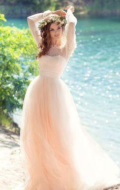 Featured Dress: Papilio; Wedding dress idea.